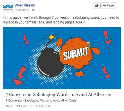 facebook broad audience creative sample