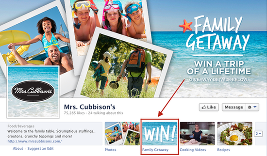 Facebook Marketing Contests