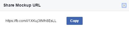 facebook creative hub share mockup