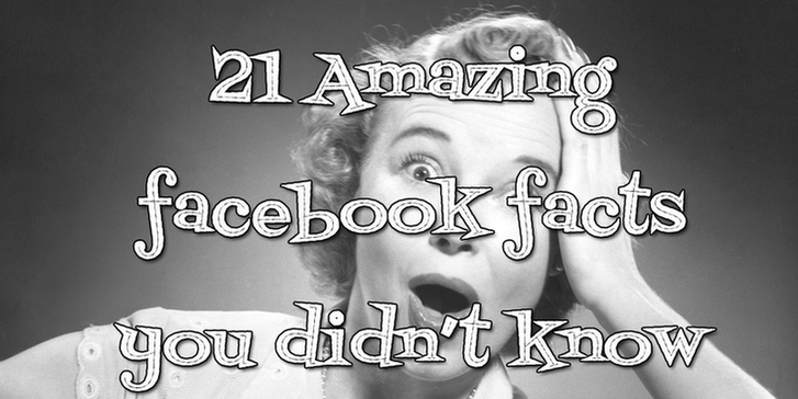 Facebook facts you didn't know