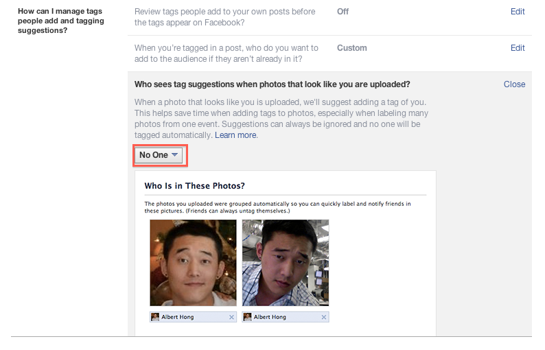 Privacy Facebook Graph Search