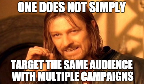 Facebook Lead Ads Lord of the Rings one does not simply meme