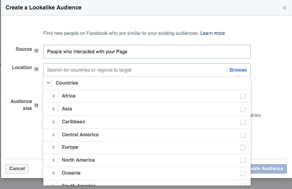 international lookalike audiences in facebook