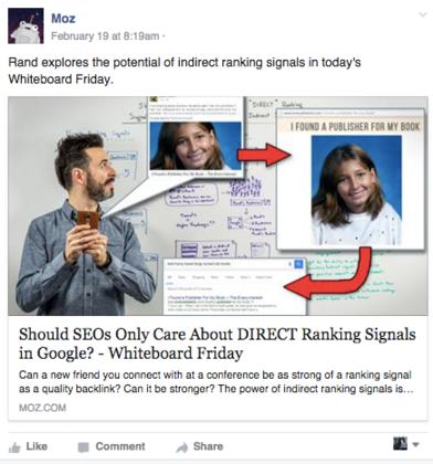 ideas for facebook marketing