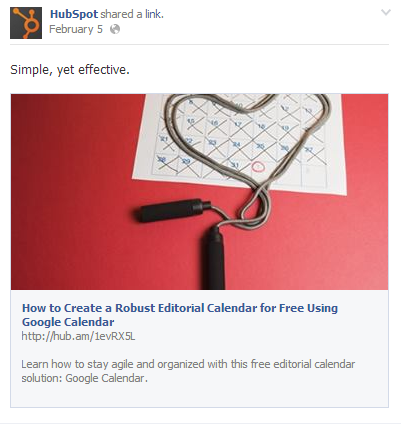 facebook image marketing
