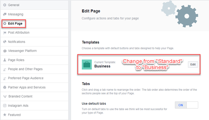 how to make a business facebook page public