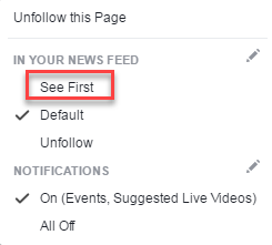 facebook see first followers