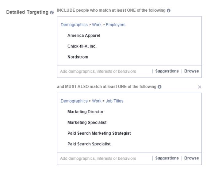 detailed facebook targeting