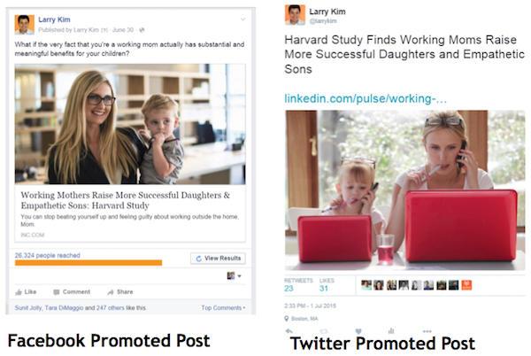 Facebook vs. Twitter Ads vs. LinkedIn Pulse