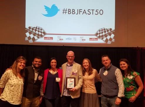 WordStream wins Fast50 award