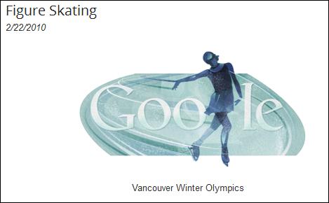 winter olympics google doodle