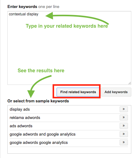keyword research for contextual display advertising