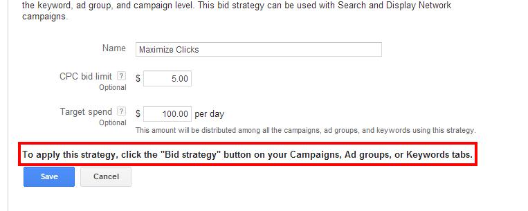maximize clicks