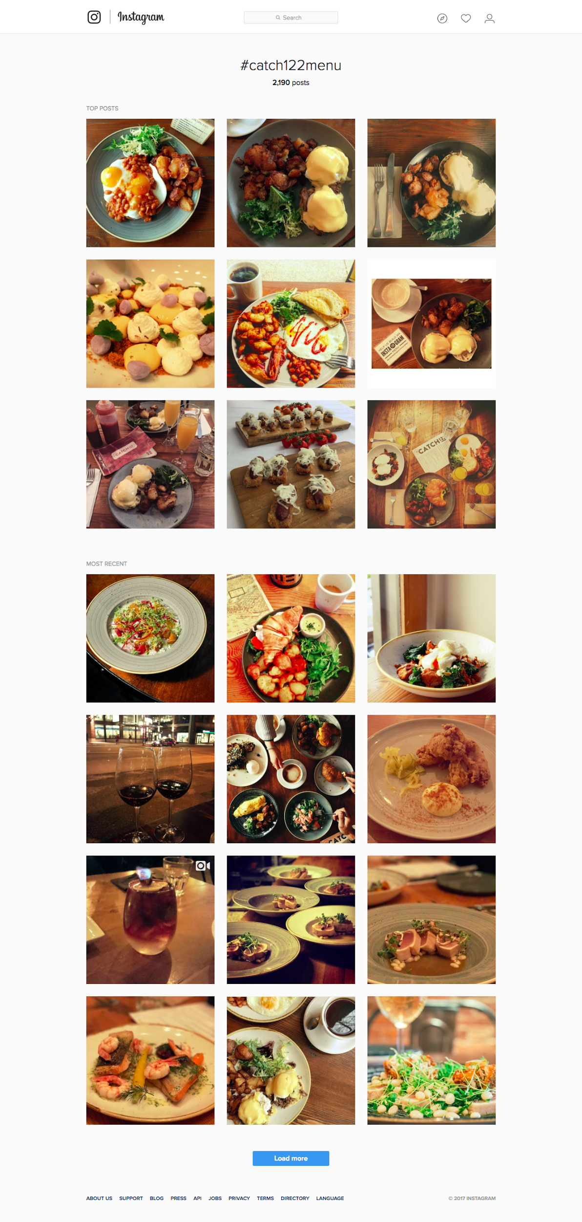 Food and restaurant advertising tips Instagram food