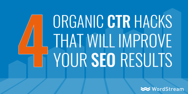 Why You NEED to Raise Organic CTR's
