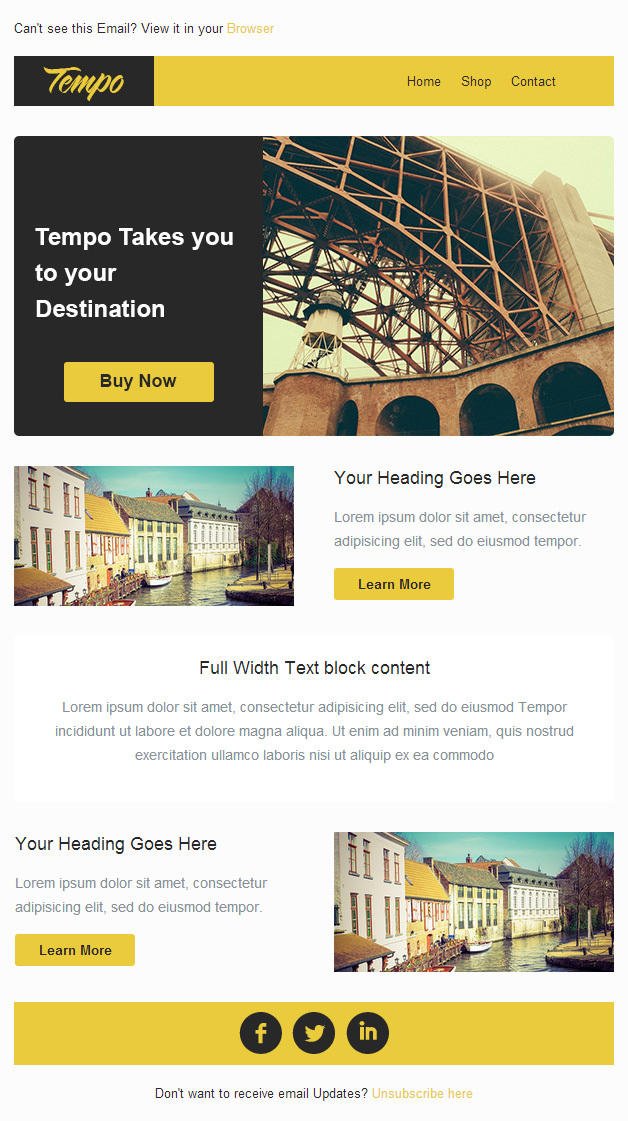 free email marketing designs