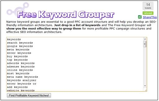 The Free Keyword Grouper