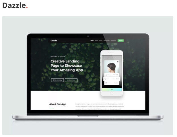 Landing page templates free Styleshout
