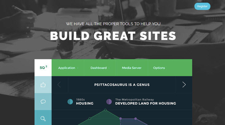 Free landing page templates Themewagon