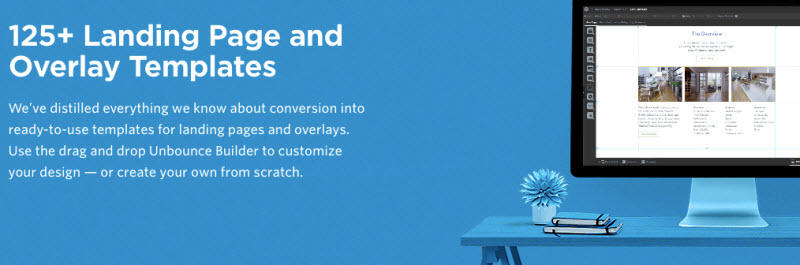 Landing page templates free Unbounce
