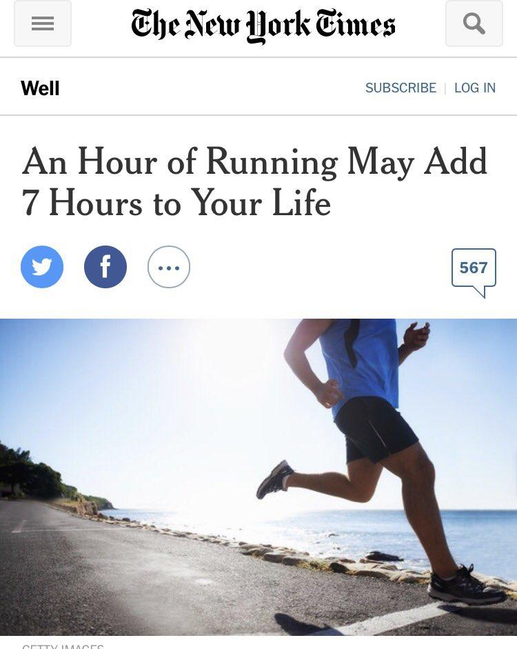Freelance writing work NTY running adds years to your life