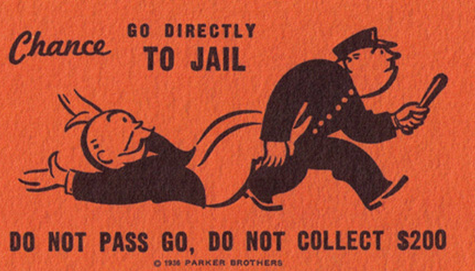 Freelancer's guide to taxes Monopoly do not pass go