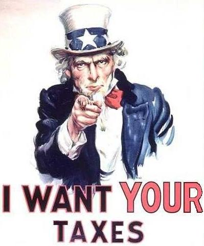 Freelancer's guide to taxes Uncle Sam recruitment poster