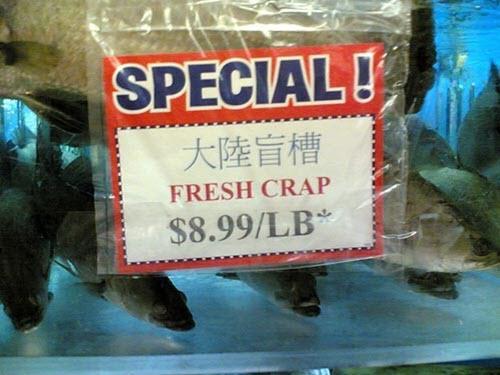 fresh crap