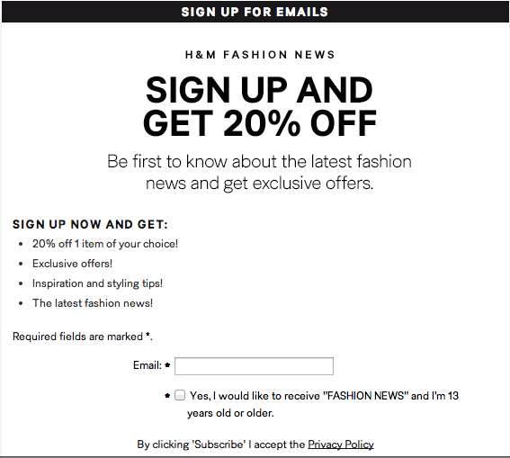 27 Tips On How To Get More Email Signups