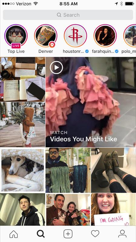 instagram brand stories