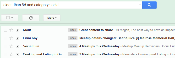 Gmail dating site spam