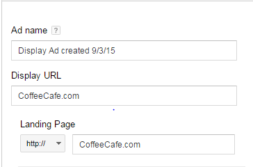 Gmail sponsored promotions example