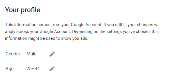 google ads profile for individual user is how adwords determines household income tier