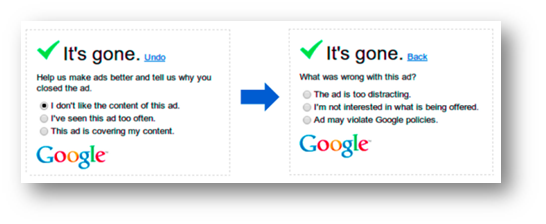 Google In-Ad Survey