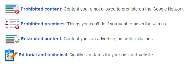 adwords policy