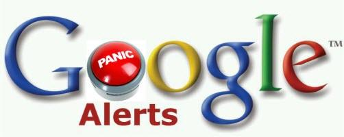 Google alerts not working