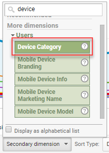 segment by device google analytics