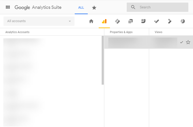google analytics suite mcc