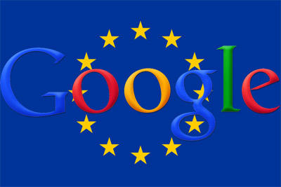 Google antitrust European Union flag