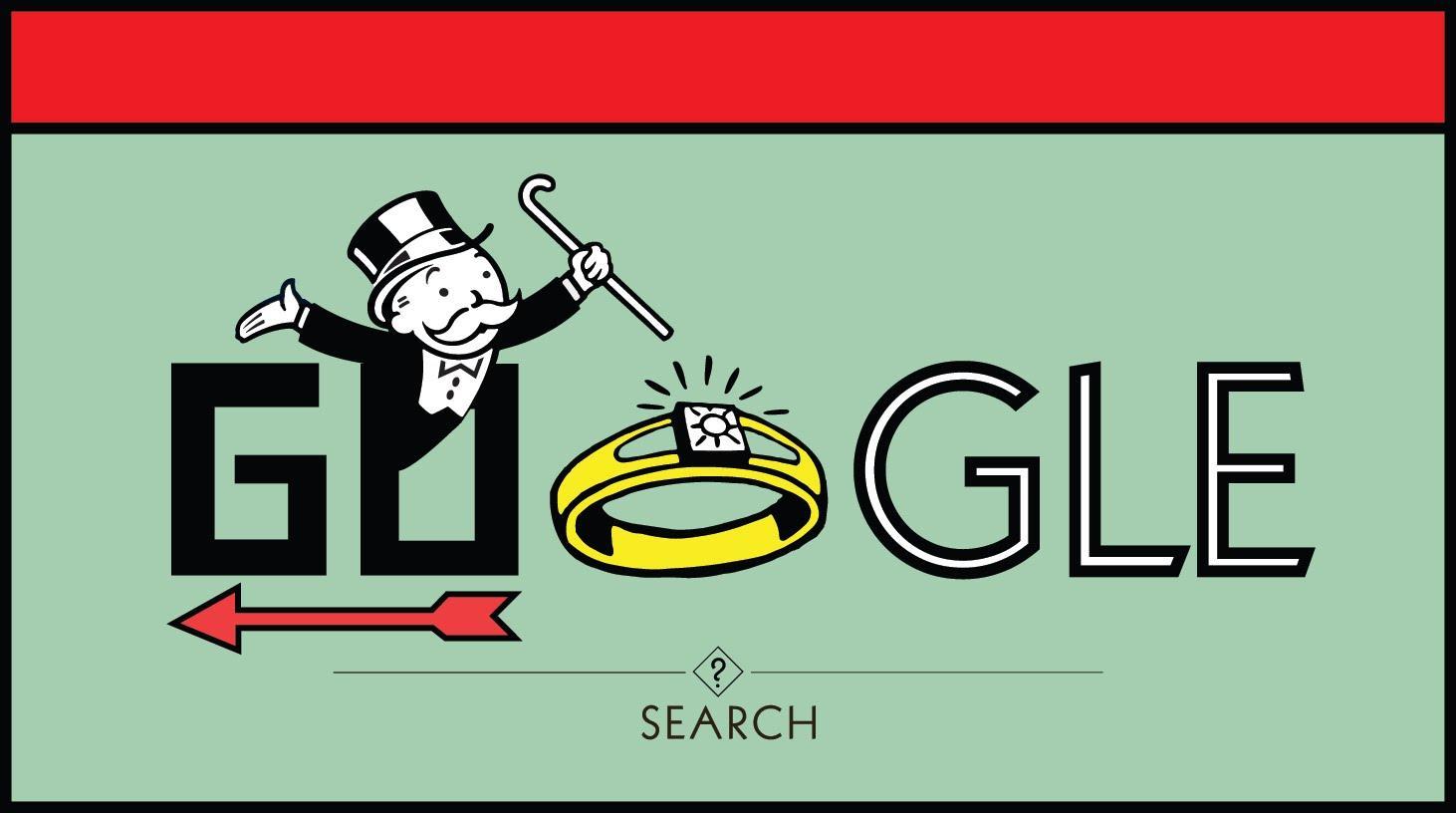 Google antitrust Monopoly board