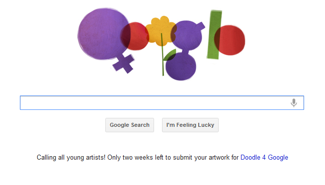 International Women's Day Google Doodle