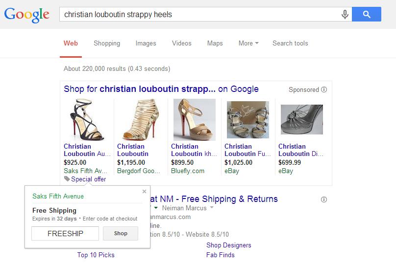 google adwords merchant promotions