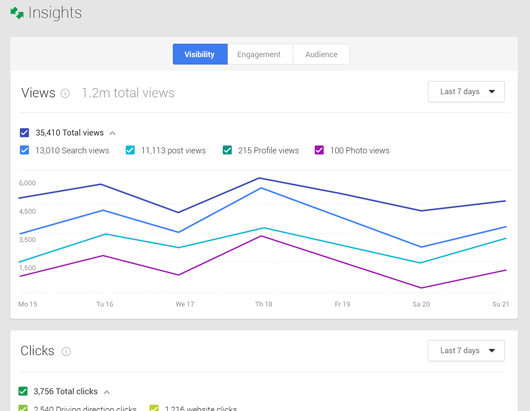 google business insights