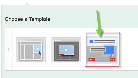 Google+ Ad Template in AdWords