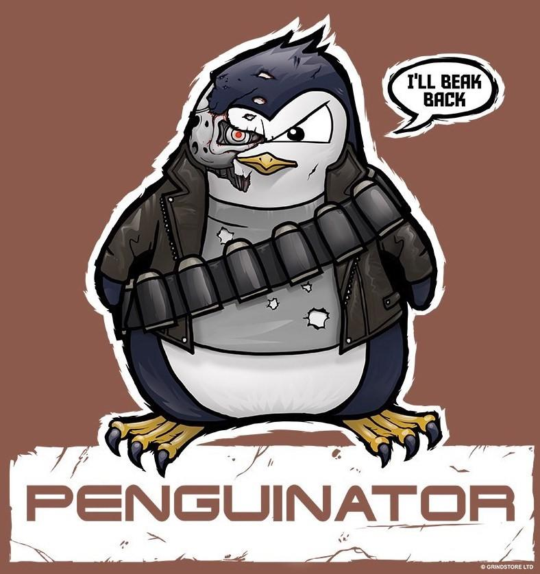 Google RankBrain Penguinator T-shirt