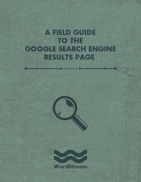 WordStream Google SERP field guide cover