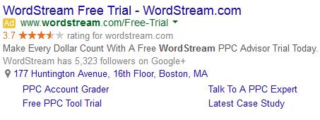 adwords social extensions