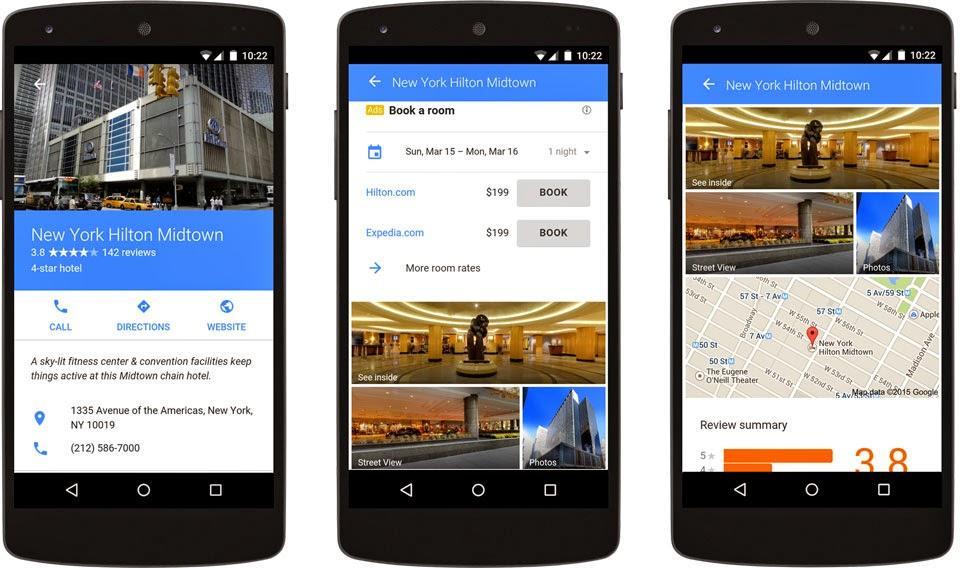 Google Ads formats