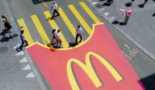 Grassroots marketing McDonald's guerilla marketing campaign