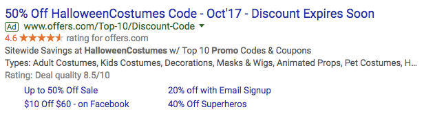 seasonal adwords ads